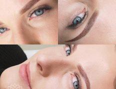 Makijaż permanentny brwi - przykład realizacji 01