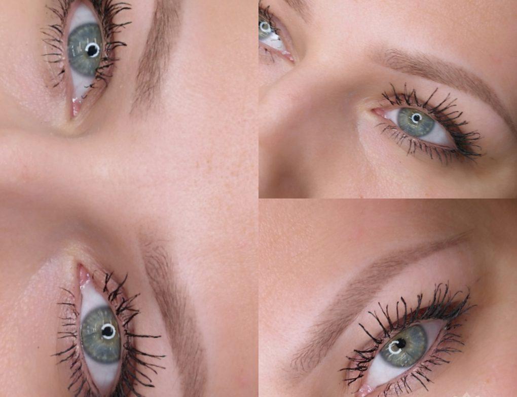 Makijaż permanentny brwi - przykład realizacji 02