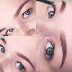 Wygląd brwi z wykorzystaniem makijażu permanentnego