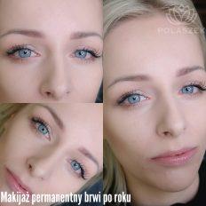 Wygląd brwi z wykorzystaniem makijażu permanentnego 02