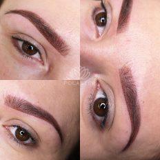 Realizacja makijażu permanentnego brwi w Centrum Plaszek w Wejherowie 02