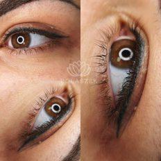 Realizacja makijażu permanentnego oczu (powiek)