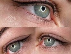 Makijaż oczu (powiek) wykonany w Centrum Polaszek w Wejherowie